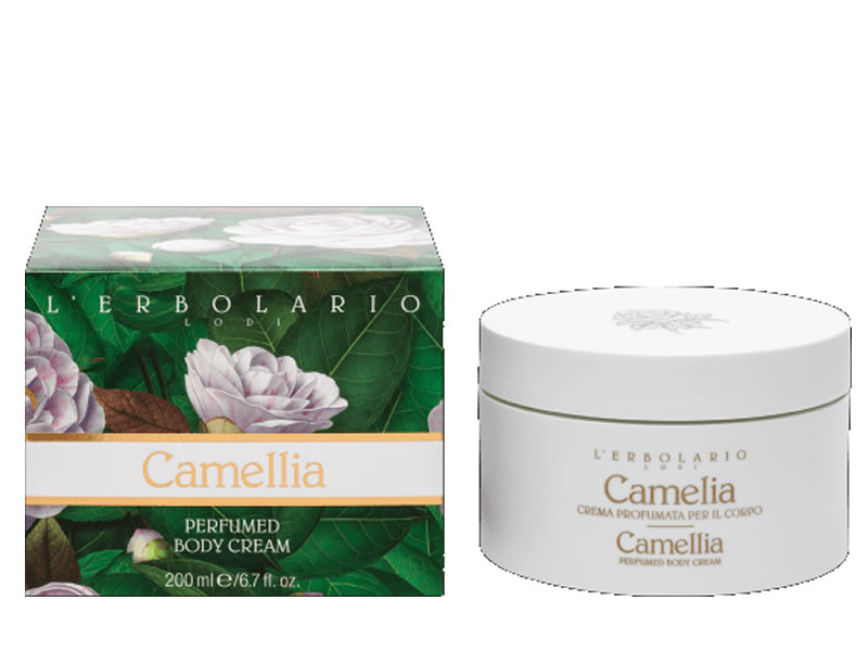 body cream camelia erbolario