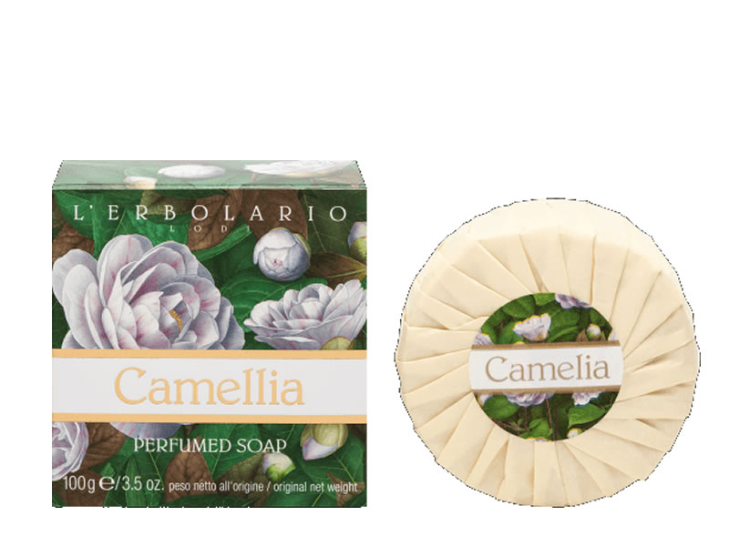 soap bar erbolario camelia
