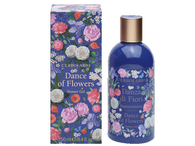 shower gel dance flower danza di fiori erbolario lodi