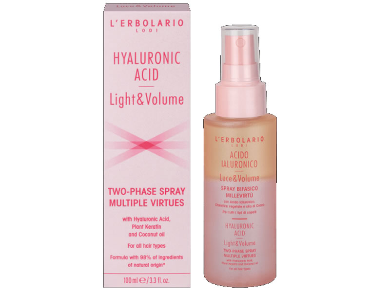 two phase spray hyaluronic acid erbolario
