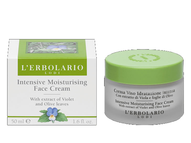 intensive moisturizing face cream erbolario