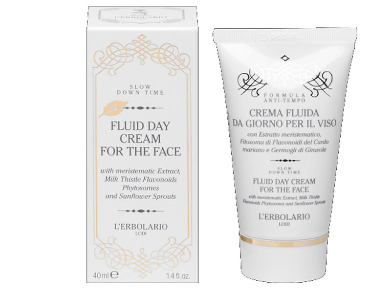 day face cream slow down time erbolario