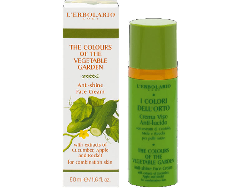 erbolario green face cream
