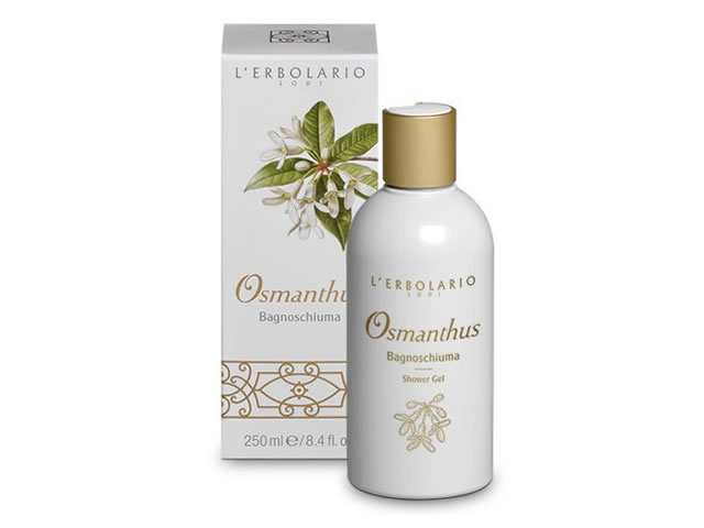 erbolario osmanthus shower gel