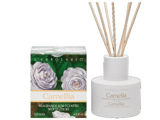 erbolario perfumed wood sticks camelia