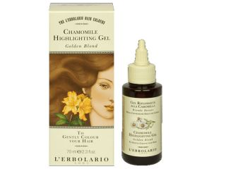 erbolario hair colour chamomile