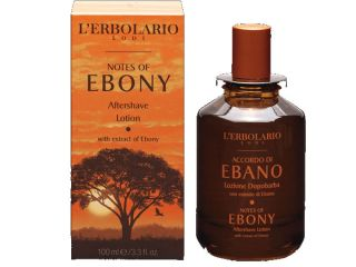 ebano aftershave lotion erbolario