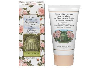 rose hand cream erbolario